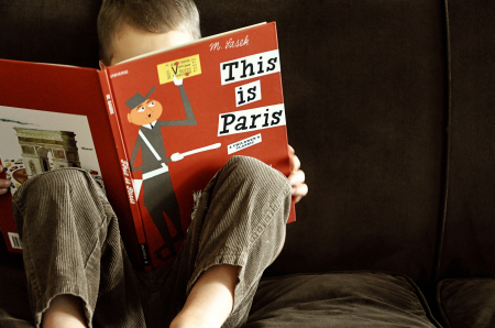homeschooler reading