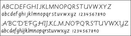 italic_handwriting